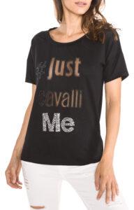 Dámske  Tričko Just Cavalli -  čierna