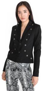 Dámske  Sako Versace Jeans -  čierna