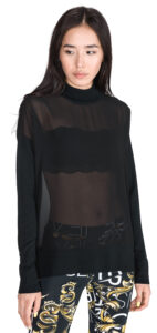 Dámske  Sveter Versace Jeans -  čierna