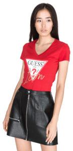 Dámske  Tričko Guess -  červená
