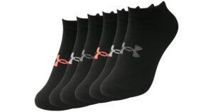 Dámske  Essential Ponožky 6 párov Under Armour -  čierna