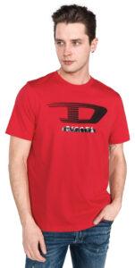 Pánske  Just Y4 Tričko Diesel -  červená
