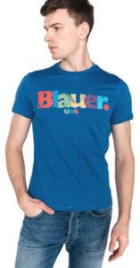 Pánske  Tričko Blauer -  modrá