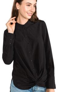 Dámske  Bind Košeľa Vero Moda -  čierna