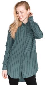 Dámske  Daria Košeľa Pepe Jeans -  modrá zelená