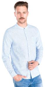 Pánske  Brent Košeľa Pepe Jeans -  modrá