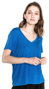 Dámske  Dina Tričko Vero Moda -  modrá