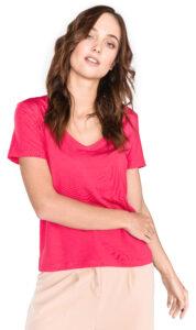 Dámske  Dina Tričko Vero Moda -  ružová