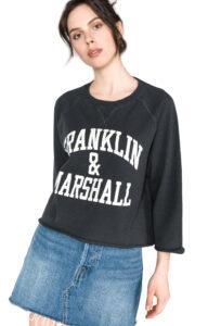 Dámske  Mikina Franklin & Marshall -  čierna