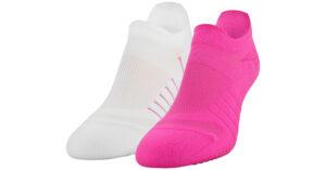 Dámske  Pinnacle Lo Lo Ponožky 2 páry Under Armour -  ružová biela
