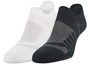 Dámske  Pinnacle Lo Lo Ponožky 2 páry Under Armour -  čierna biela