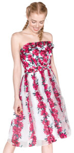 Dámske  Šaty French Connection -  ružová biela
