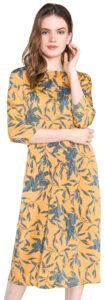 Dámske  Olivia Šaty Vero Moda -  žltá oranžová