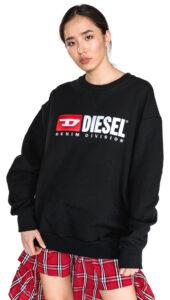 Dámske  Arap Mikina Diesel -  čierna