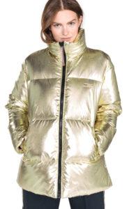 Dámske  Icon Bunda Tommy Hilfiger -  zlatá