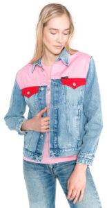 Dámske  Bunda Calvin Klein -  modrá ružová