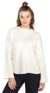 Dámske  Campbell Sveter Vero Moda -  biela