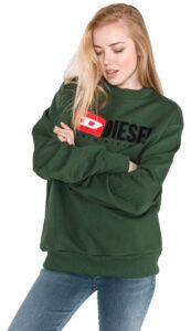 Dámske  Division Mikina Diesel -  zelená