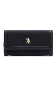 Dámske  Houston Large Peňaženka U.S. Polo Assn -  čierna