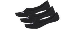 Dámske  No Show Ponožky 3 páry adidas Originals -  čierna