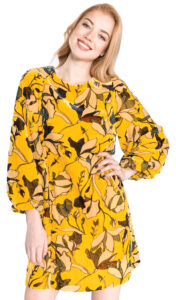 Dámske  Aventine Šaty French Connection -  žltá