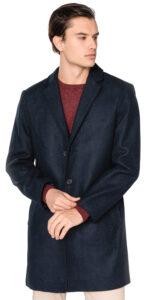 Pánske  Kabát Tom Tailor -  modrá