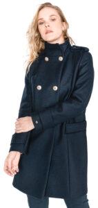 Dámske  Belle Kabát Tommy Hilfiger -  modrá