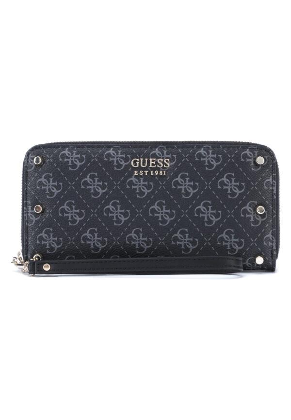 Dámske  Aline Large Peňaženka Guess -  čierna