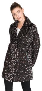 Dámske  Rita Kabát Guess -  čierna hnedá viacfarebná