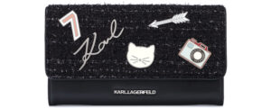 Dámske  Klassik Peňaženka Karl Lagerfeld -  čierna