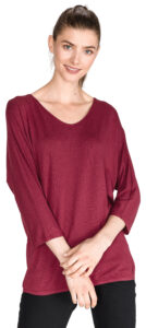 Dámske  Tričko Tom Tailor -  červená