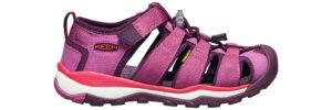 Dievčenské  Newport Neo H2 Sandále detské Keen -  ružová