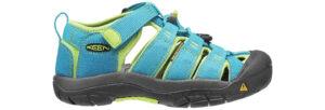 Chlapčenské  Newport H2 Jr Sandále detské Keen -  modrá