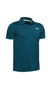 Chlapčenské  Polo tričko detské Under Armour -  modrá zelená