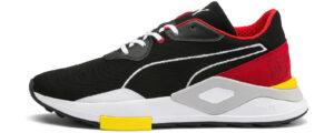 Pánske  Shoku Koinobori Tenisky Puma -  čierna červená biela