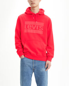 Chlapčenské  Mikina detská Levi's -  červená