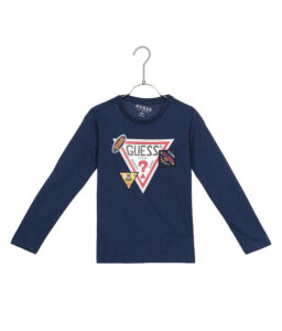 Chlapčenské  Tričko detské Guess -  modrá