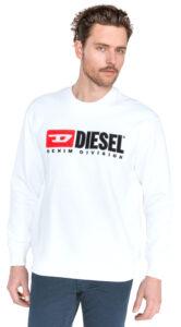 Pánske  Division Mikina Diesel -  biela