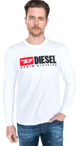 Pánske  Just Tričko Diesel -  biela