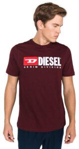 Pánske  Just Division Tričko Diesel -  červená