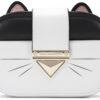 Dámske  Choupette Cross body bag Karl Lagerfeld -  biela