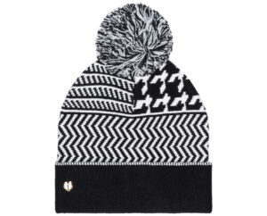 Dámske  Zimná čiapka TWINSET -  čierna biela