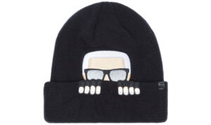 Dámske  Ikonik Zimná čiapka Karl Lagerfeld -  čierna