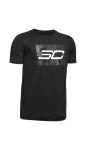 Chlapčenské  SC30™ Branded Tričko detské Under Armour -  čierna