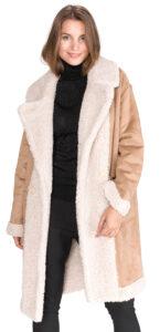 Dámske  Kabát TWINSET -  hnedá béžová