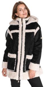Dámske  Kabát TWINSET -  čierna