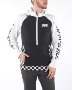Pánske  BMX Off The Wall Bunda Vans -  čierna biela