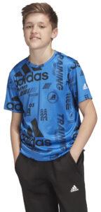 Chlapčenské  Tričko detské adidas Performance -  modrá