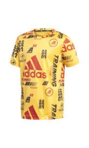 Chlapčenské  Tričko detské adidas Performance -  žltá