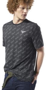 Pánske  Tričko Reebok -  čierna